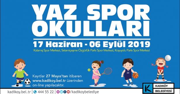 Kadıköy Belediyesi Yaz Spor Okulu Kayıtları Başlıyor