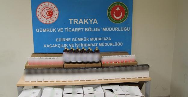 Kapıkule'de Hayvanlar İçin Kullanılan 1.344 Adet Kaçak Doping Ve İlaç Ele Geçirildi