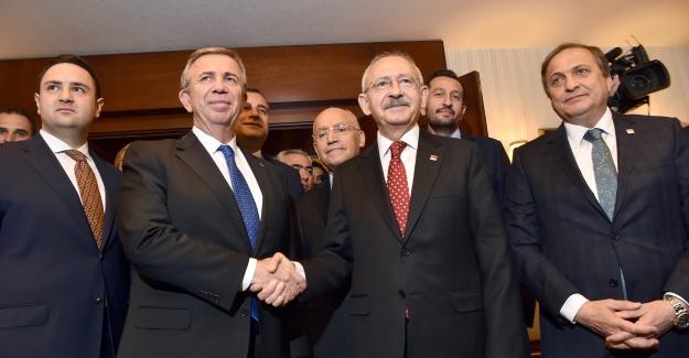 Kılıçdaroğlu'ndan Ankara Büyükşehir Belediye Başkanı Yavaş'a Ziyaret