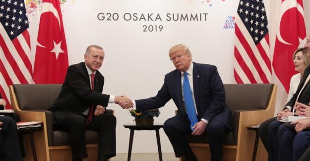 Cumhurbaşkanı Erdoğan, ABD Başkanı Trump İle Görüştü