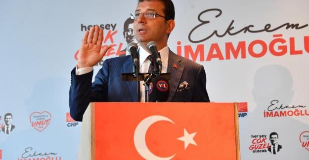 "İmamoğlu: ""İstanbul'a İhanet Edenlere Bu Kent Emanet Edilemez"""