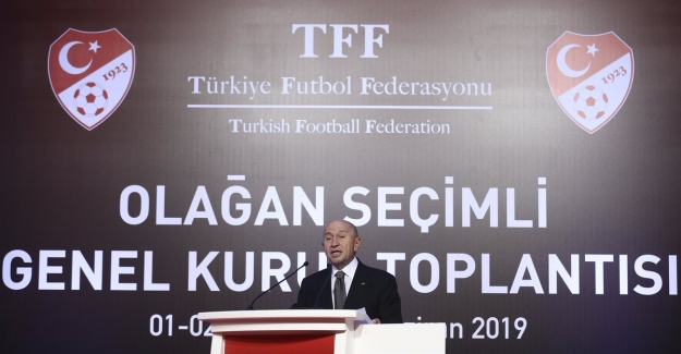 TFF'nin Yeni Başkanı Nihat Özdemir Oldu
