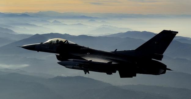 TSK'dan Irak'ın Kuzeyi Sinat-Haftanin Bölgesine Hava Harekatı