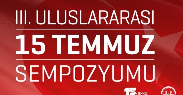 3. Uluslararası 15 Temmuz Sempozyumu, Diyanet İşleri Başkanlığı'nda Yapılacak