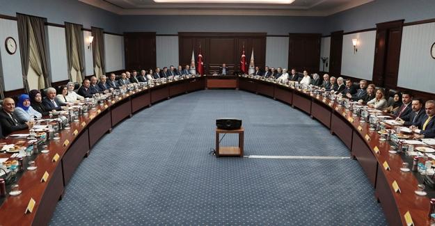 AK Parti MKYK Toplantısı Cumhurbaşkanı Erdoğan Başkanlığında Toplandı