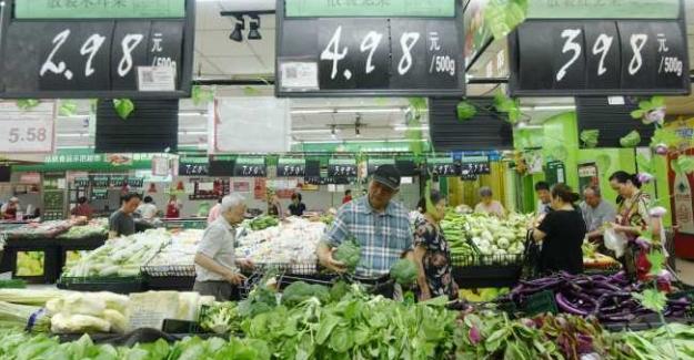 Çin'de Temmuz Ayı Enflasyonu Yüzde 2.8 Oldu