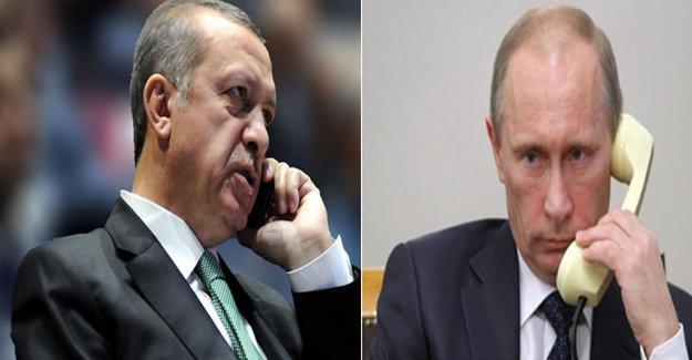 Cumhurbaşkanı Erdoğan İle Rusya Devlet Başkanı Putin Arasında 'Kritik' Görüşme