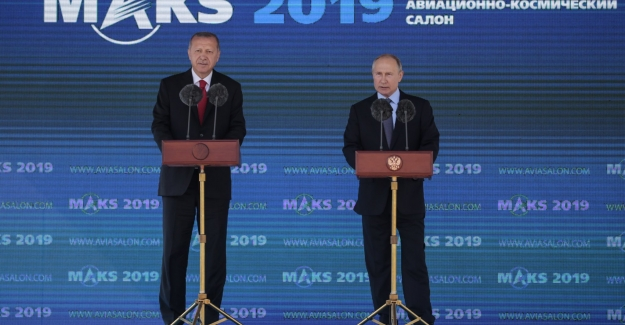 Cumhurbaşkanı Erdoğan MAKS-2019 Uluslararası Havacılık ve Uzay Fuarı'nın Açılış Töreni'ne Katıldı