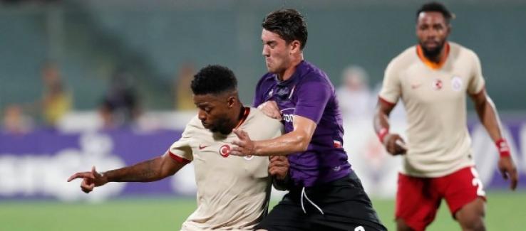 Galatasaray, ACF Fiorentina'dan Fark Yedi