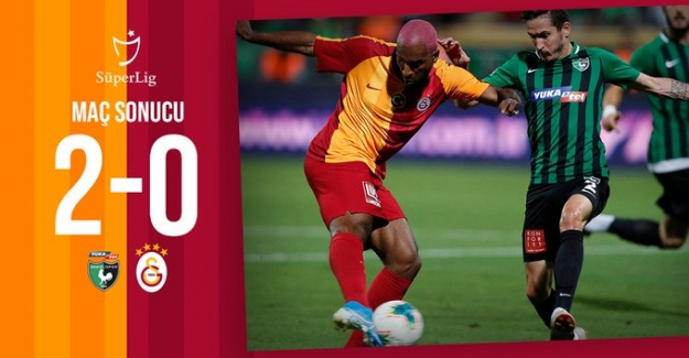 Galatasaray Lige Mağlubiyetle Başladı