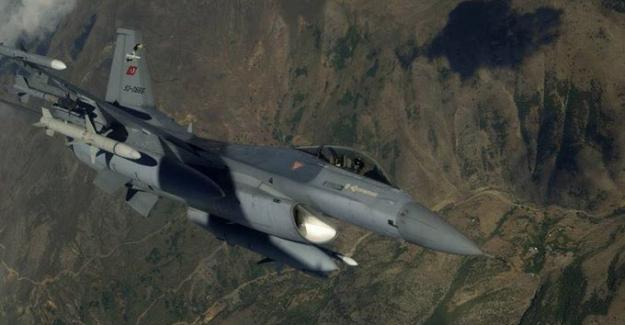 Irak'ın Kuzeyi Zap Bölgesine Hava Harekatı: 2 Terörist Etkisiz Hale Getirildi