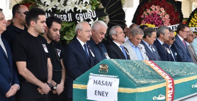Kılıçdaroğlu, Eski BAĞ-KUR Genel Müdür Yardımcısı Hasan Eney'in Cenaze Törenine Katıldı