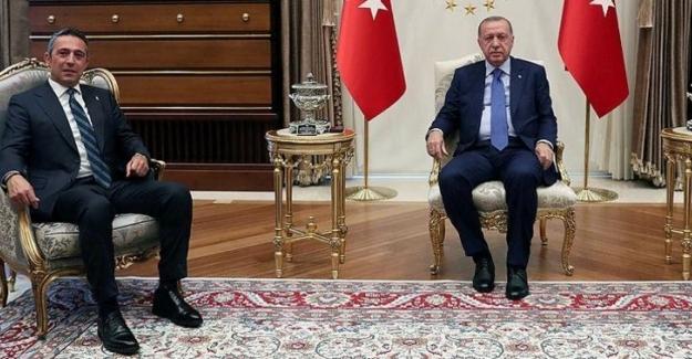 Cumhurbaşkanı Erdoğan, Fenerbahçe Kulübü Başkanı Koç'u Kabul Etti