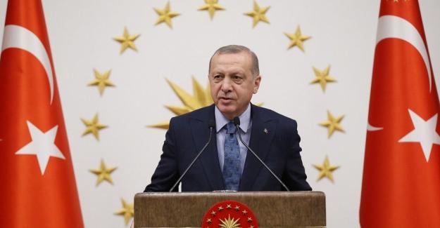Cumhurbaşkanı Erdoğan, Şehit Ailelerine Başsağlığı Telgrafı Gönderdi