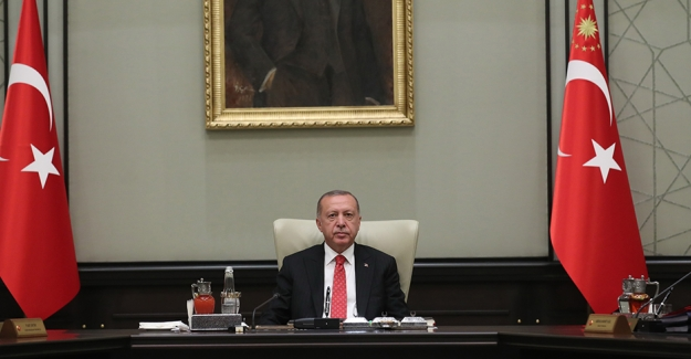 Cumhurbaşkanlığı Kabinesi Toplantısı Sona Erdi