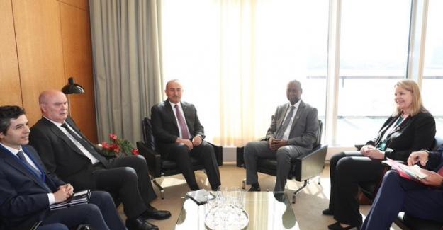 Dışişleri Bakanı Çavuşoğlu, BM 74. Genel Kurulu Başkanı Bande'yi Tebrik Etti