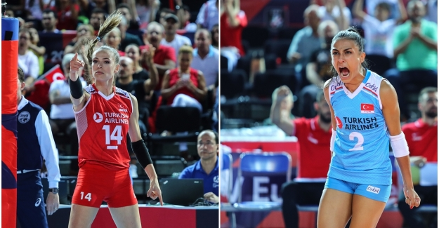 Eda Erdem Dündar ve Simge Aköz, Avrupa Şampiyonası'nın Rüya Takımı'na Seçildi