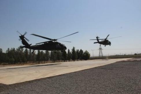 Fırat'ın Doğusunda Altıncı Ortak Hava Devriyesi