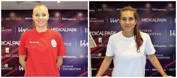 Galatasaray Kadın Basketbol Takımının Yeni Transferleri Sağlık Kontrolünden Geçti