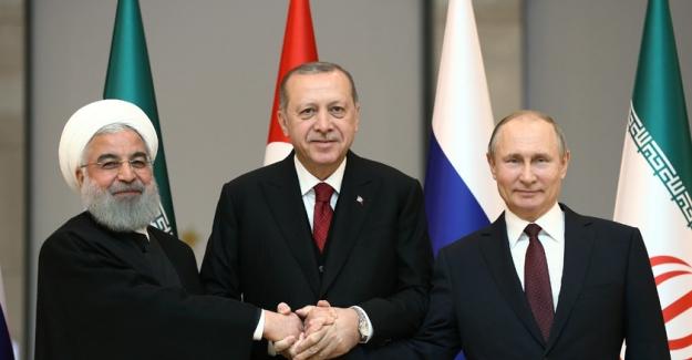 İran Cumhurbaşkanı Ruhani ve Rusya Devlet Başkanı Putin Türkiye'ye Gelecek
