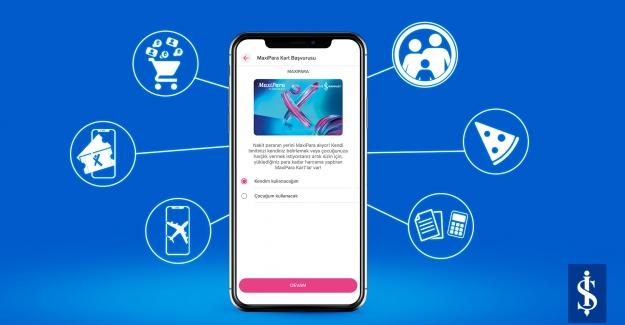"""İş Bankası'ndan Ön Ödemeli Dijital Kart """"MaxiPara Kart"""""""