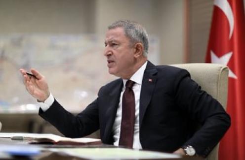 """Bakan Akar: """"Şu Ana Kadar 342 Terörist Etkisiz Hale Getirildi"""""""