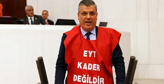 """CHP'li Barut, """"EYT İçin Susmayacağız, Mücadeleden Vazgeçmeyeceğiz"""""""