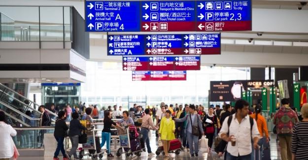 Çin Ulusal Bayram Tatilinde 12,8 Milyon Kişi Uçakla Seyahat Etti