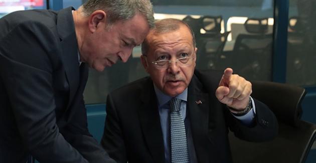 """Cumhurbaşkanı Erdoğan, """"Barış Pınarı Harekâtı"""" Koordinasyon Toplantısına Başkanlık Yaptı"""