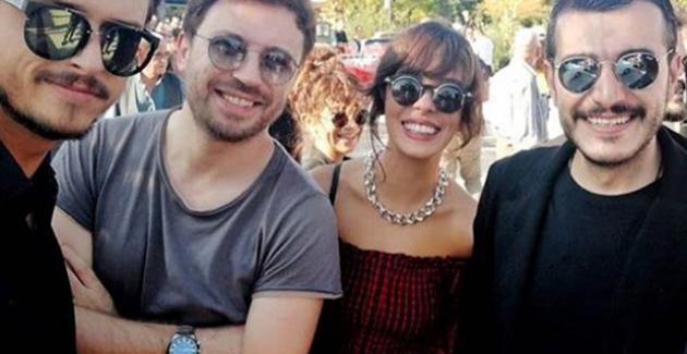 Festivalde Üç Yakışıklıya Yoğun İlgi