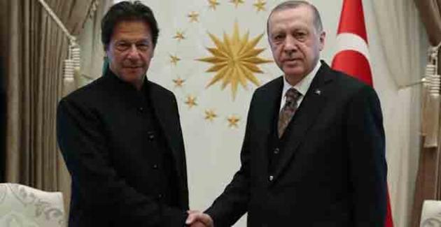 Pakistan Başbakanı Han'dan Cumhurbaşkanı Erdoğan'a Destek Telefonu