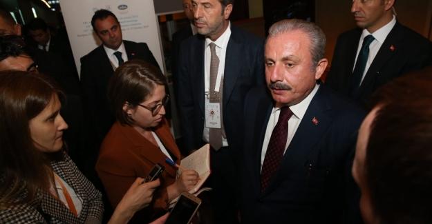 """TBMM Başkanı Şentop: """"Yaptırımlar Uygulayanı Değil, Uygulanan Ülkeyi Güçlendirir"""""""