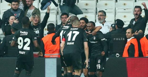 Beşiktaş, Yukatel Denizlispor'u Mağlup Etti