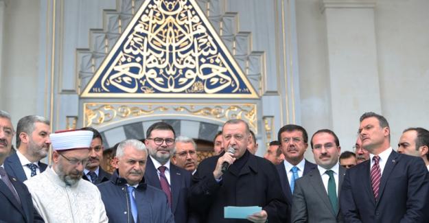Cumhurbaşkanı Erdoğan, Bilal Saygılı Camii Ve Külliyesinin Açılış Törenine Katıldı