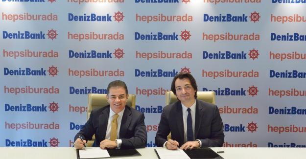 DenizBank Ve Hepsiburada İş Birliği İle Online Alışverişte Anında Kredi