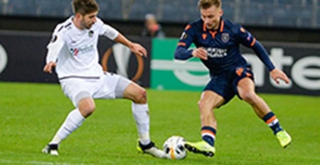 Medipol Başakşehir Avrupa Ligi'nde Liderliğe Yükseldi