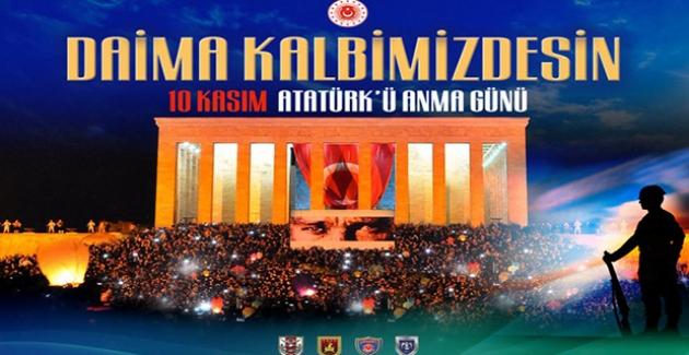 Millî Savunma Bakanı Akar'dan 10 Kasım Atatürk'ü Anma Günü Mesajı