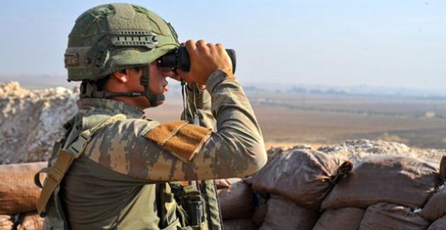 """MSB: """"Teröristlerin Barış Pınarı Harekât Bölgesine Yönelik Tacizleri Sürüyor"""""""