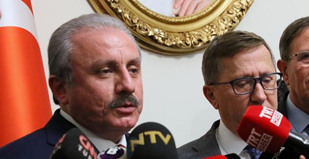 TBMM Başkanı Şentop, İYİ Parti Grup Başkanı Ve Başkanvekilleri İle Görüştü