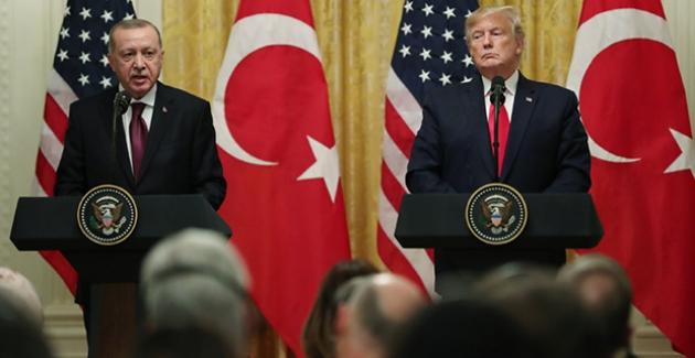 """""""Türk-Amerikan İlişkilerinin Güçlü Bir Zeminde İlerletilmesi Ve İş Birliğimizin Derinleştirilmesinde Hemfikiriz"""""""