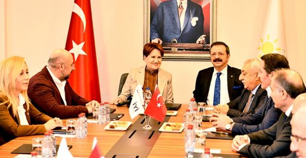 Akşener, Türkiye-AB Karma İstişare Komitesi Türkiye Kanadı Üyelerini Kabul Etti