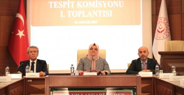Asgari Ücret Tespit Komisyonu İlk Toplantısını Yaptı