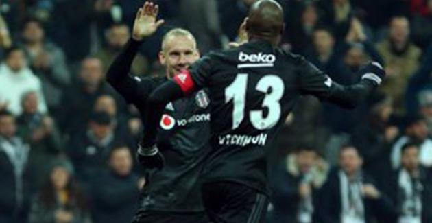 Beşiktaş, Gençlerbirliği'ni 4-1 Mağlup Etti