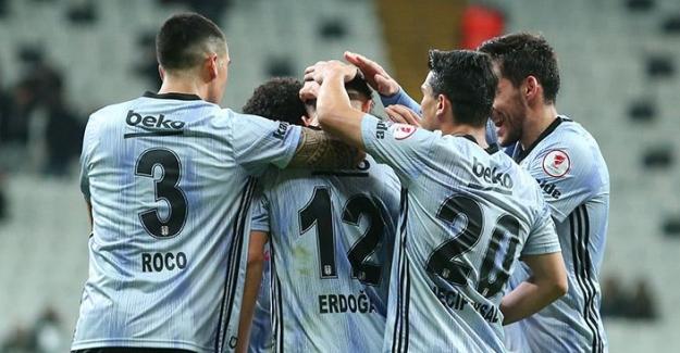 Beşiktaş Kupa'da Rahat Kazandı