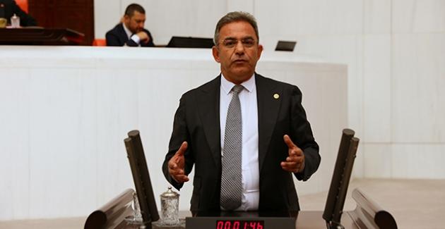 """CHP'li Budak: """"Kadriye Halk Plajının Tahsisi Bakanın Oteli İçin Mi Kalkıyor?"""""""