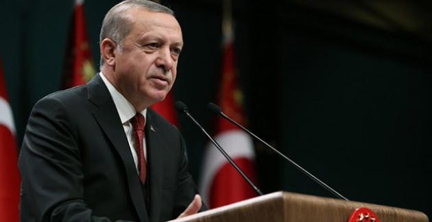 """Cumhurbaşkanı Erdoğan'dan """"10 Aralık İnsan Hakları Günü"""" Mesajı"""