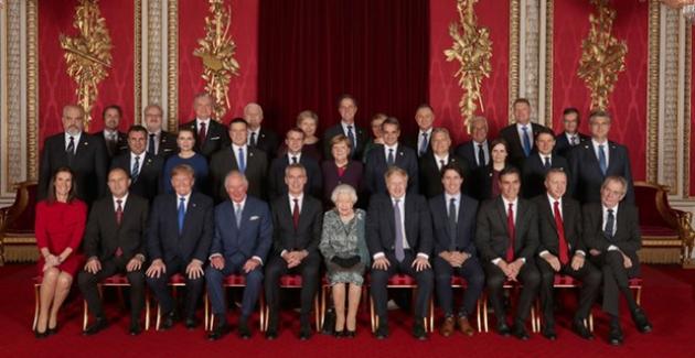 Cumhurbaşkanı Erdoğan, İngiltere Kraliçesi 2. Elizabeth Tarafından Verilen Resepsiyona Katıldı