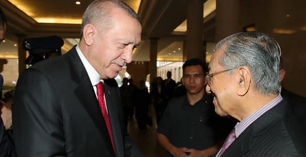 Cumhurbaşkanı Erdoğan, Malezya Başbakanı Muhammed İle Görüştü