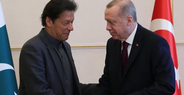 Cumhurbaşkanı Erdoğan, Pakistan Başbakanı Han İle Görüştü