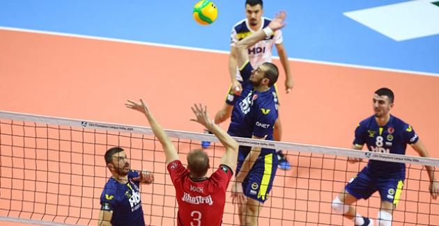 Fenerbahçe HDI Sigorta, CEV Erkekler Şampiyonlar Ligi'ne Kötü Başladı